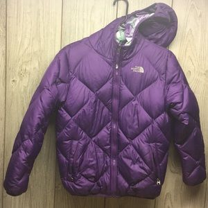 THE NORTH FACE Like new Reversible puffer coat